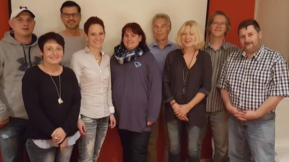 Team des ERCI Förderverein Jungpanther e.V.